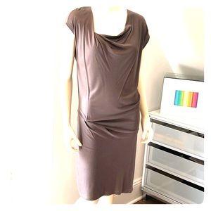 HELMUT LANG Drape Minimalist Dress